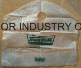 O costume do HDPE imprimiu o saco cortado do punho