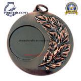 récompenses promotionnelles de la médaille 3D, avec le logo de garniture intérieure