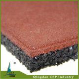 Preiswerte elastische im Freien Schlag-Absorptions-Gummifußboden-Innenmatte