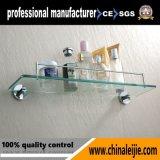 Acessórios de banheiro de aço inoxidável de alta qualidade Série prateleira de vidro para hotel (LJ55412)