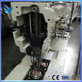 Длинняя рукоятка одно/швейная машина двойной иглы промышленная для Bamboo циновки Du4420-L40