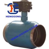 DIN/API/JIS Industriële Gelaste Drijvende Kogelklep uit gegoten staal
