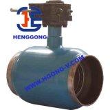 Valvola a sfera saldata Wcb di galleggiamento industriale dell'acciaio di getto di DIN/API/JIS