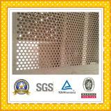 Feuille perforée d'acier inoxydable d'ASTM