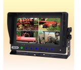 Monitor impermeabile Car Camera Systems per Farm Tractor, Combine, Cultivator, Plough, Trailer, Truck, Barn Vision
