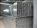 Tubo de acero cuadrado galvanizado caliente de ERW