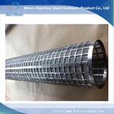 Câmara de ar perfurada do metal do aço inoxidável com ISO