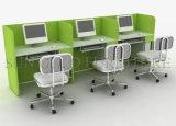 Poste de travail en bois populaire chaud de bureau de personnel de 8 sièges (SZ-WS138)