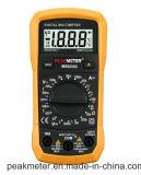 Multímetro digital de Peakmeter Ms8233c com medida da temperatura