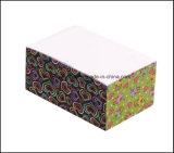 Изготовленный на заказ кубики напечатанные логосом бумажные