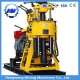 Machine hydraulique de plate-forme de forage de puits d'eau du Portable 200m