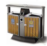 Ящик напольной деревянной мусорной корзины неныжный с Ashtray
