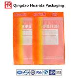 Sacs de livre en plastique estampés gentils de tissu de module de produit commode favorable à l'environnement zip-lock en plastique de sacs