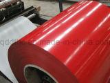 PPGI a enduit la bobine d'une première couche de peinture en acier galvanisée