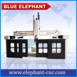 Ele-3030 ranurador de madera del CNC del eje de la espuma de poliestireno 4, ranurador de madera del CNC para el grabado de madera