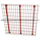 Сваренная гальванизированная стальная загородка ячеистой сети хранения для сбываний