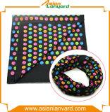 Bandana coloré de polyester avec le logo d'impression