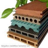 Pavimentazione composita di plastica del legno cinese