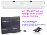Sistema de energía solar de la luz del tubo del LED