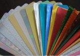 Papel de papel de aluminio del uso del abastecimiento del hogar de la fábrica de China con la impresión