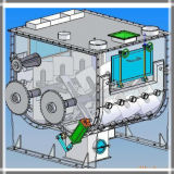 Horizontale trockene Puder-Mischmaschine-Maschine (doppelter Wellepaddeltyp)