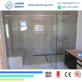 vidro de segurança Tempered desobstruído de 10mm para a porta do chuveiro