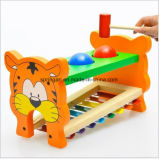 아이들 나무로 되는 장난감 손 피아노 2 드럼 2017new 장난감