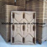 Paleta de madera comprimida presionada estándar euro de la bandeja de madera