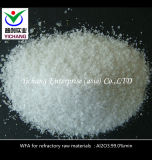 Alúmina fundido blanco de abrasivo Medios y Reractory materias primas