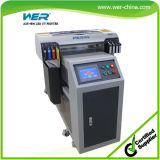 2014 neue heiße verkaufende UV-Flachbettdrucker mit 395 Nm LED-UV-Licht für jede Starre matierals Drucken mit hoher Auflösung