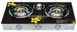 Hornilla india de la cocina de gas de Galss 2-4