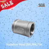 Stainless Steel Feminino Tubo de acoplamento, acessórios para tubos