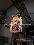 フルカラーLEDの表記を広告する店の中心P5.9