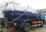 Carro 10000 L carro del vacío de 10 metros cúbicos de la succión de las aguas residuales
