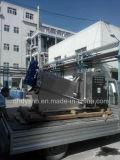 Schrauben-Klärschlamm-entwässernpresse-Gerät verwendet in der städtischen Abwasserbehandlung