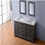 Vanidad americana del cuarto de baño del lavabo del doble del diseño