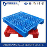 Palette en plastique réversible de qualité d'usine pour l'industrie