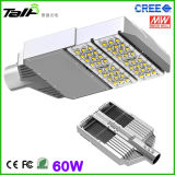 40W-300W LED Street Light mit CREE LED Meawell Driver 5 Years Warranty