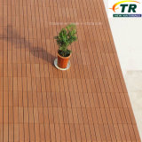 Pose facile d'entretoises WPC Decking Flooring DIY Tiles