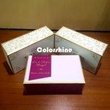 Rectángulo de regalo de papel cosmético del embalaje de la alta calidad con el papel de la mantequilla