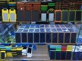 جيّدة عمليّة بيع مادة شمسيّة [موبيل فون] قوة بنك شاحنة مع [موبيل فون] حامل قفص عمل
