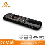 Ultra-Thin Mini Keyboard USB com IR Learning Fuction para TV inteligente e Android TV