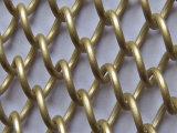 Drapery катушки ячеистой сети алюминиевого сплава для занавеса металла