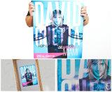 フルカラーサービスラベル大きいポスター印の昇進ポスター印刷をカスタム設計しなさい