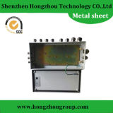 Fabricación de la hoja de metal para la caja del monitor de la pantalla táctil