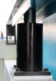 Machine de sablage de courroie large de trois têtes