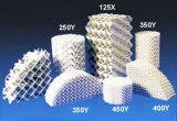 Ceramic Structured Packing for Heat Transfer and Mass Transfer Applications