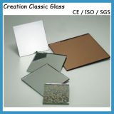 1.3mm, 2mm, 3mm, 4mm, 5mm und 6mm silberner Spiegel für Gebäude