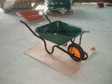 Wheelbarrow resistente do jardim com a roda contínua Wb3800 de 13 polegadas