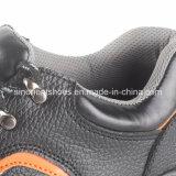 Buenos zapatos de seguridad de acero de la punta del alto talón de los precios RS1005